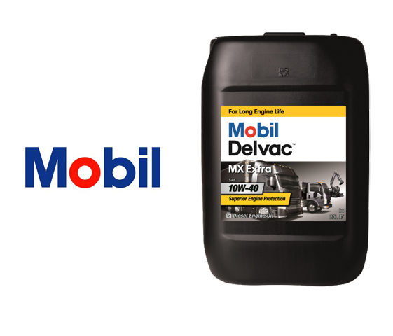 Масло Mobil Delvac XHP Extra 10W-40 20L